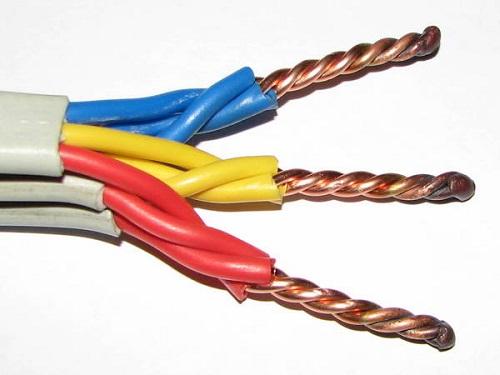 Скрученные провода
